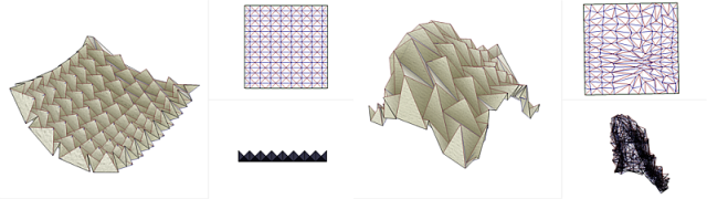 Freeform Variations Of Origami